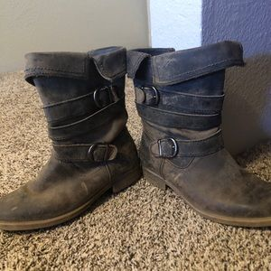 Gray Bedstu Boots size 7